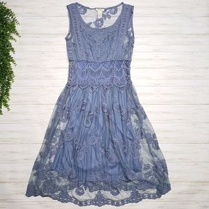 Sundance Lasting Love Lace Boho Gypsy Dress
